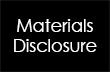 Materials Disclosure for Naturepedic