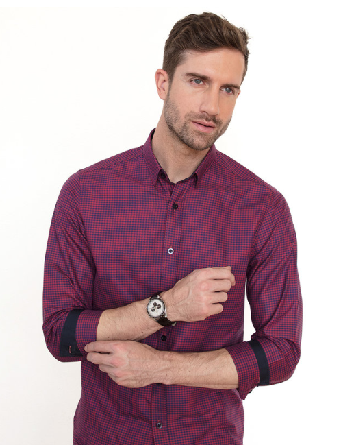 """f3a39847d88 100% organic, premium quality shirts for men. """"We only use low impact  organic dyes, pure, soft at first touch 100% GOTS certified organic cotton  and every ..."""
