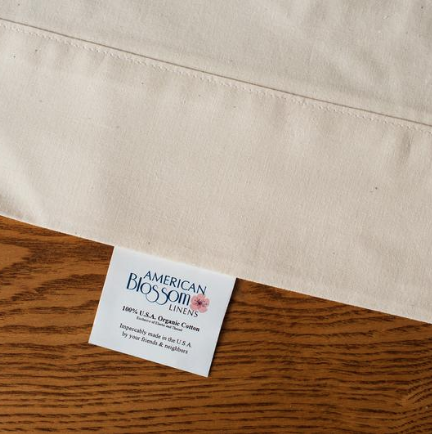 1ce01d12665 The only bed sheets made completely in the USA from 100% USA organic  traceable cotton. See a lovely and informative diagram of how organic cotton  is grown.
