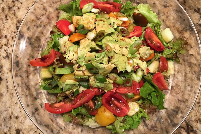 Chinese Salad with Szachuan Peppercorns