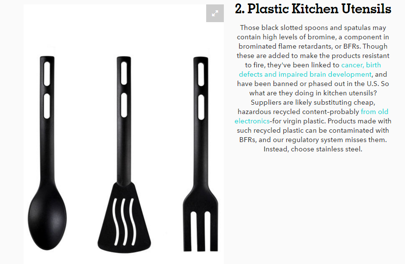Plastic Cooking Utensils
