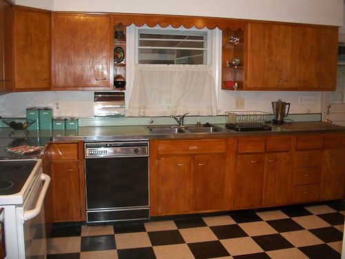 Question From Colleen. Hi Debra,. I Have Original Scheirich Wood Kitchen  Cabinets ...